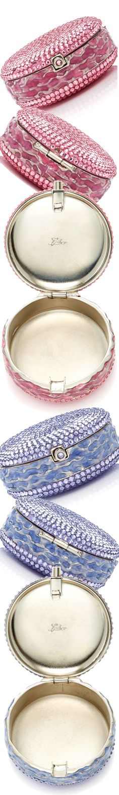 Judith Leiber Couture Macaron Pillbox