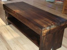 westwater bench in burnt chocolate