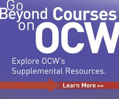 Free Online MIT Course Materials for High School   Highlights for High School   MIT OpenCourseWare