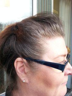 Hiukset ennen värjäystä.