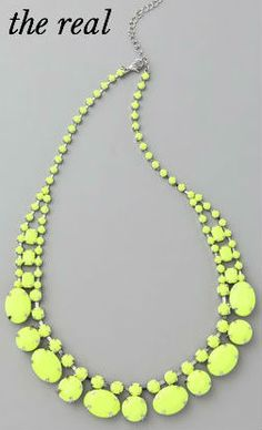 Asia Kibur necklace bead neon LFL