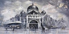 Are you looking for an Australian art for sale? Bella's Art Studio offers paintings for sale in Australia and it's all original. Check out my paintings today. Melbourne, Original Paintings For Sale, City Scene, Australian Art, Studio, Art For Sale, Bella, Cities, Louvre