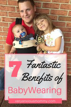 """7 FANTASTIC BENEFITS OF BABYWEARING When I first became a mom, I never thought I would fall into a """"Natural or Green"""" parenting lifestyle. It was very foreign to me and as a millennial mom, I figured that my parenting style would be more modern. And other than breastfeeding and making my own baby food, I had no idea about all of the ways you could be a Natural or Green parent. In fact, it was not until my daughter was born just over five years ago that I first learned about the different..."""