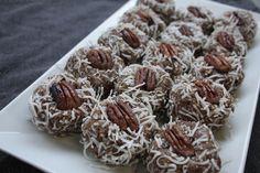 dreamy coconut pecan date bliss balls