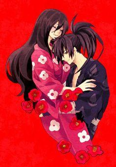 Anime Demon, Manga Anime, Anime Art, Kenshin Y Kaoru, Anime Black Hair, Otaku, Anime Group, Manga Love, Beautiful Anime Girl