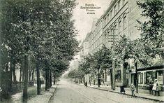 Ulica Oliwska, Nowy Port / Oliwska Street, New Danzig, Old World, Old Photos, Street View, Architecture, Modern, Polish, Travel, Outdoor