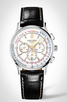 Introducing The Longines Asthmometer-Pulsometer Chronograph — HODINKEE