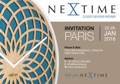 You are invited! #NeXtime #Maisonobjets