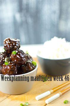 Weekplanning maaltijden week 46