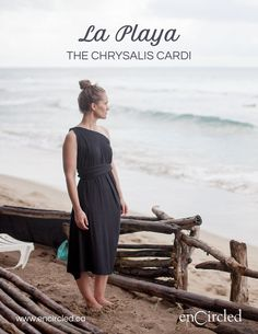 The Chrysalis Cardi, a multiway dress that can be worn over 8 different ways. Our lookbook, photographed at Encuentro Beach, Cabarete Dominican Republic by Adan de Miguel. Encircled creates versatile travel apparel for wanderlusters, proudly Made in Canada from sustainable fabric. To learn more visit www.encircled.ca