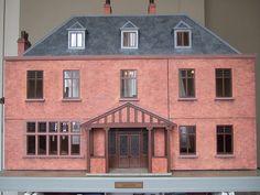 dolls' house brick  Rick Maccione-Dollhouse Builder www.dollhousemansions.com