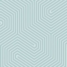 Labyrinth  (93/5015) - Cole & Son Wallpapers - An intricate, geometric labyrinth design. Shown here in shades of duck egg blue. Paste the wall product. Please order a sample for true colour match.