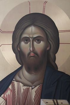 Last year we posted an article about young Romanian iconographers creating traditional icons looking partially to modern art for elements to include in their work. With the spiritual renewal of R… Becoming A Monk, Paint Icon, Jesus Face, Byzantine Icons, Religious Icons, Orthodox Icons, St Michael, Learn To Paint, Christian Art