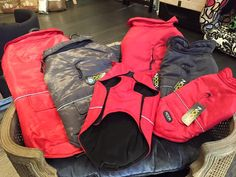 Our Noox coats have arrived at our shop ! Us Shop, Lausanne, Your Pet, Backpacks, Coats, Shopping, Beauty, Fashion, Moda