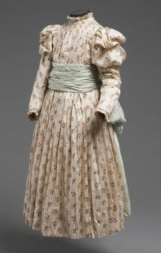 Girl's Dress 1890s The Philadelphia Museum of Art