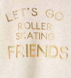 Imagem 5 de Sweatshirt texto em relevo da Zara