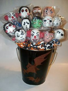 Halloween Scary Movie Characters (Cake Pops)