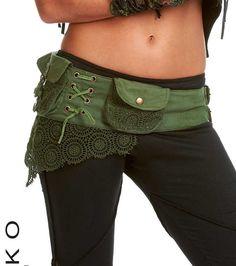 Cinturón de utilidad de Steampunk - colores surtidos - basura gitana, bolsillo de cinturón, hip pack, paquete de la cintura, riñonera, festival ropa, Ccbeol