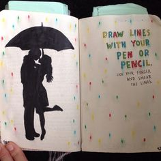 Wreck This Journal - Draw Lines With Your Pen Or Pencil