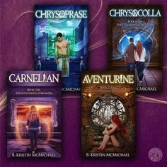 All four books in The Chalcedony Chronicles have new covers! Get Book One for FREE and Book Two for only $0.99 for a limited time!  Carnelian: http://a.co/1VHpAos Chrysoprase: http://a.co/7zl9zZB