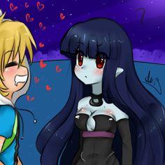 Random Finnceline Doodle by Anini-Chu on DeviantArt Mizz Chama, Finn And Marceline, Deviantart, Adventure Time, Doodles, Artist, Anime, Xmas, Artists
