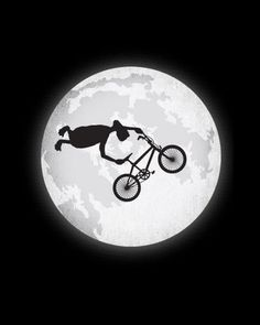BMX came around for sure due to watching ET I loved both equally