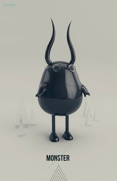 MONSTER!!! by AARON MARTINEZ, via Behance