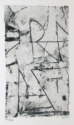 Richard Diebenkorn, UNTITLED (R)