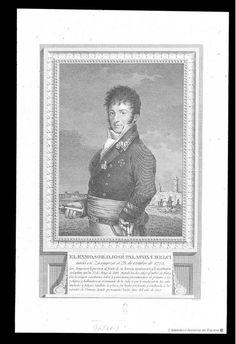 [Retrato de José Palafox y Melci]. Esteve Vilella, Rafael (1772-1847) — Grabado — ?