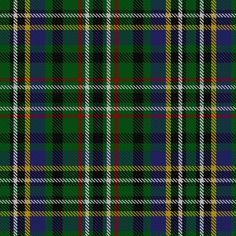 Tartan image: Scott (Green)---From the MacKinlay strip in the Marcus K Milne Collection, Aberdeen. Also known as Green Scott, this tartan is generally available today. The Chief of the Scotts is His Grace the 9th Duke of Buccleuch and 10th of Queensberry who lives in Selkirk in the borders region of Scotland