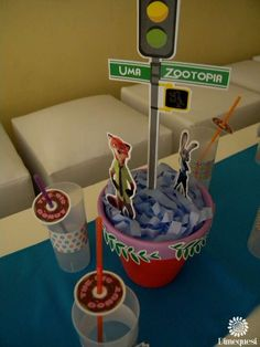 zootopia Birthday Party Ideas | Photo 22 of 25 | Catch My Party
