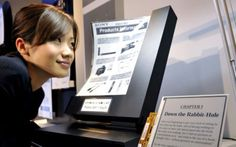 Fine and Flexy: Sony's Futuristic Flexible E-Paper Display