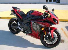 YAMAHA R1 CANDY RED #Yamaha #R1 #SuperBike