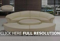 12 Cool Round Sectional Sofa Image Ideas