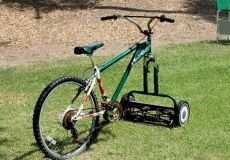 Bicycle Mower...gotta get one for my boys...