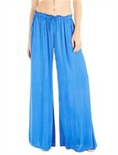Guernsey Sateen Palazzo Pant w/ Pockets