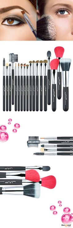 US$23.99 + Free shipping. Makeup Brushes Set, Cosmetics Tool. Very convenient and practical. Suit for: Eyeshadow, Eyebrow, Blusher, Foundation, Flawless, BB Cream, Makeup Base etc.