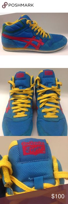 ASICS TIGER ONITSUKA SNEAKERS SAIKO RUNNER HN8K1 NICE PAIR OF ASICS TIGER ONITSUKA SNEAKERS SAIKO RUNNER HN8K1  MEN SIZE 13 US  ONLY WORN ONCE, LIKE NEW CONDITION  SEE PICTURES FOR CONDITION Asics Shoes Sneakers