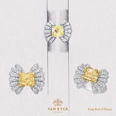 """The ring """"Kind Bird of Papua"""" from van Eyck Jewelry"""