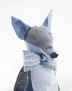 Denim Fox by Maison Indigo www.maisonindigo.com