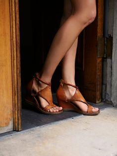Bonita Wedge Sandal