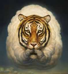 Fantastic Painting of Animals byMartin Wittfooth
