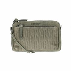 Burkely Filippa Weave Mini-Bag Grey