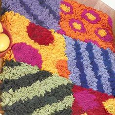 COOL RUGS MADE EASY:leisure Arts,latch Hook Rug Pattern