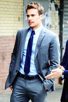 """Love him as Tobias """"four"""" Eaton...so sexy #yummy"""