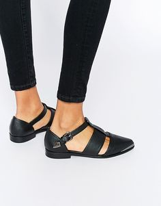 Image 1 of ASOS MYTH Flat Shoes