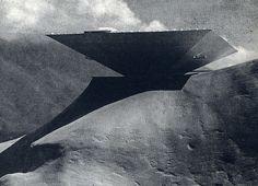 Concept for the Caracas museum of modern art. Oscar Niemeyer, 1955.