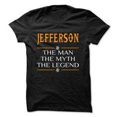 The Legen JEFFERSON... - 0399 Cool Name Shirt ! - #shirt prints #camo hoodie. BUY TODAY AND SAVE => https://www.sunfrog.com/LifeStyle/The-Legen-JEFFERSON--0399-Cool-Name-Shirt-.html?68278