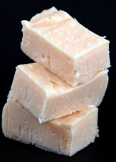 Key lime coconut fudge - nope, fudge definitely does not have to be chocolate!