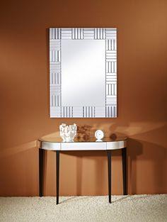 388ddc4d9b94 Lucida Rectangular Mirror From Deknudt - 84cm x 112cm